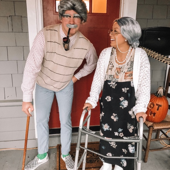 Last-Minute Halloween Costume Ideas. Old lady costume